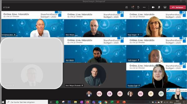 Webinar-Serie und SharePointForum 2020 als Online-Live-Event –  Ein erfolgreiches Eventformat in turbulenten Zeiten überzeugt die Teilnehmer